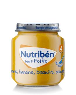 Mon premier Potito® Pomme Orange Banane Biscuit