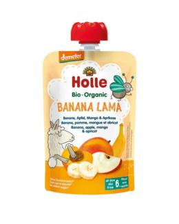 Gourde  Banana Lama - banane, pomme, mangue et abricot