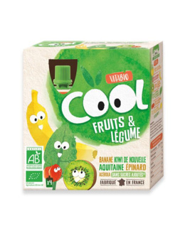 Cool Fruits et Légume - Banane Kiwi d'Aquitaine Epinard Acérola