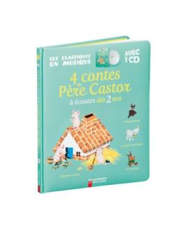 Livre-Cd 4 contes du Père Castor