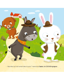 Petit lapin cherche son doudou