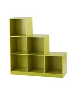 Meuble rangement 6 casiers