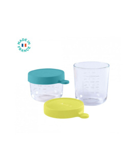 Coffret 2 portions verre 150ml/250ml