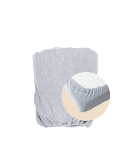 Drap housse en coton pour couffin