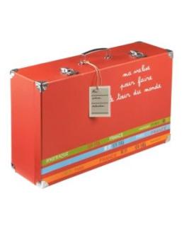 Valise en carton chambre garcon