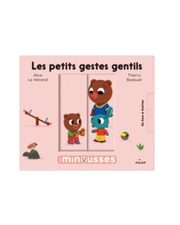 Livre Les minousses les petits gestes gentils