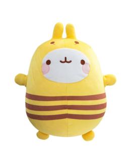 Peluche super douce Molang abeille