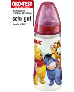 Biberon large goulot sans BPA First Choice 300 ml