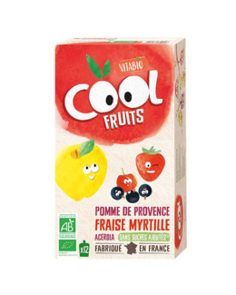 Cool Fruits - Pomme de Provence Fraise Myrtille Acérola
