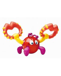 Hochet de dentition crabe