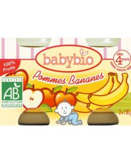 BIO Pommes Bananes dès 4 mois