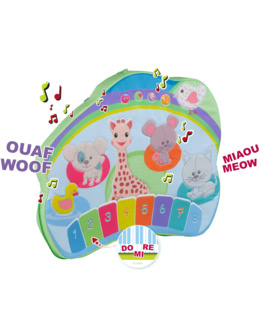 Tableau d'éveil Touch and play board Sophie la girafe