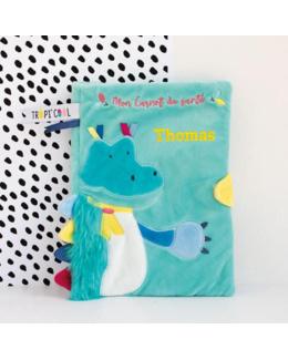 Protège carnet de santé - Crocodile Tropi'cool
