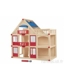 Maison de poupée en bois Playtive