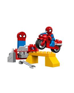 Duplo - L'atelier de la moto-araignée de Spider-Man