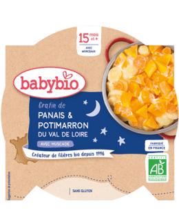 Bonne Nuit Gratin Panais & Potimarron du Val de Loire à la Muscade