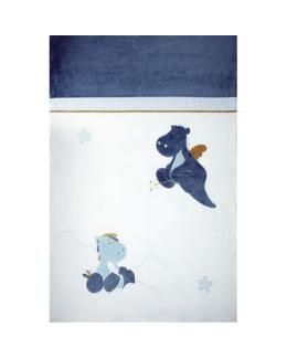 Couverture bébé 100 x 140 cm Victor et Lucien