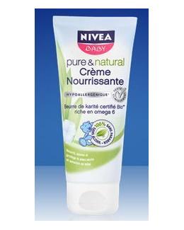 Crème nourrissante Pure & Natural