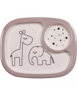 Assiette à compartiment Yummy mini Dreamy dots