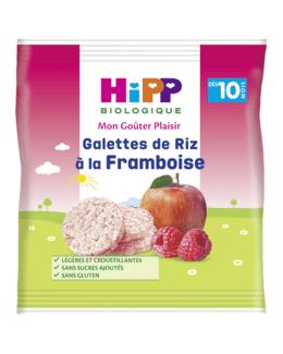 Galettes de riz à la Framboise - 1 sachet x 30g - dès 10 mois