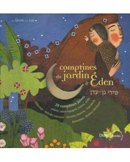 Comptines du jardin d'Eden - livre CD