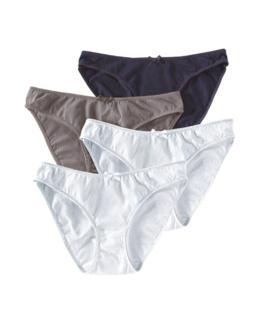 Culottes de grossesse coton stretch (x4)