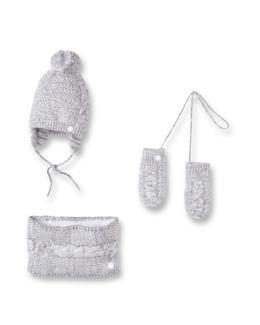 Lot accessoires chauds en tricot
