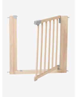 Barrière de sécurité en bois naturel