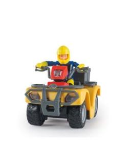 Sam le pompier et son quad Mercure
