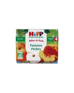Pommes Pêches 190 g dès 4 mois