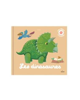 Livre Les dinosaures à toucher