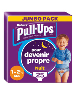 Pull-Ups Culottes Nuit Garçon (8-15 kg)