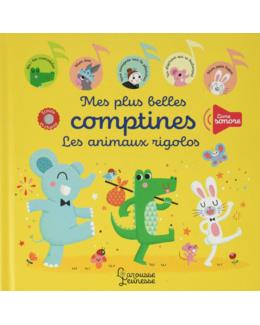 Livre Mes plus belles comptines les animaux rigolos