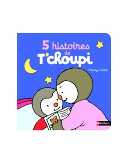 Livre 5 histoires de T'choupi