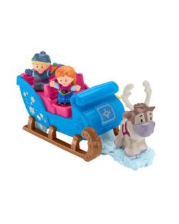 Little people La reine des neiges - Le traîneau de Kristoff