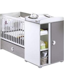 Lit bébé transformable 60 x120 cm india