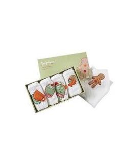Boîte de 5 serviettes Gingerbread