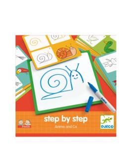 Jeux de dessin step by step Les animaux
