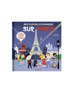 Livre Mes plus belles chansons sur Paris