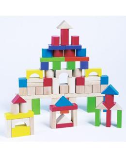 Baril 75 cubes en bois