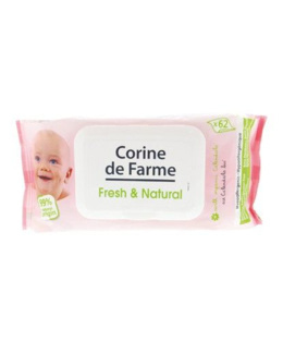 Lingettes Parfumées Fresh & Natural Calendula Bio