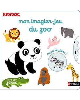 Livre Mon imagier Jeu du zoo - Kididoc