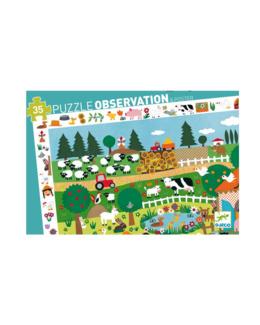 Puzzle Découverte 35 pièces la Ferme