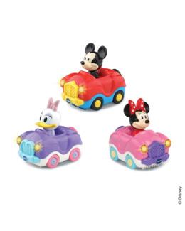 Coffret trio Minnie/Mickey  (cabrio Minnie + cabrio Daisy + cabrio Mickey)