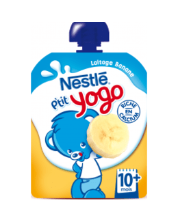 P'tit Yogo - Gourde lactée banane (dès 10 mois)