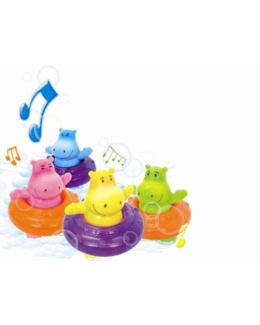 Hippos musicaux bain
