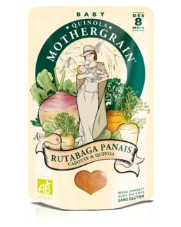 Rutabaga, panais et quinoa