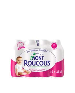 Eau Minérale Mont ROUCOUS 12 x25 cL