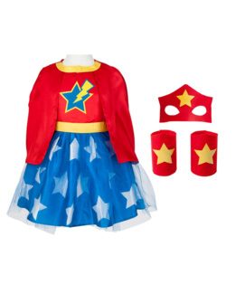 Déguisement super girl héros
