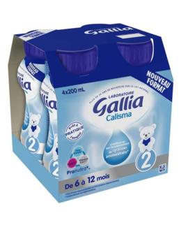 Lait Calisma 2 liquide prêt à l'emploi